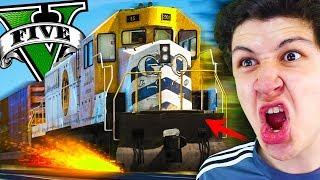 Al Fin PUDE DETENER El TREN En GTA 5... Grand Theft Auto V - GTA V Mods