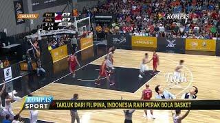 Takluk dari Filipina, Pebasket Indonesia Raih Medali Perak