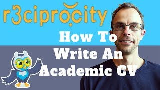 How To Write An Academic CV For An Assistant Professor Or PhD Student?