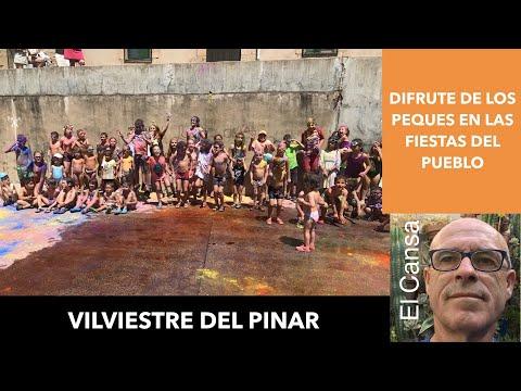 VILVIESTRE DEL PINAR  :JUEGOS DE AGUA Y ESPUMA PARA NIÑOS