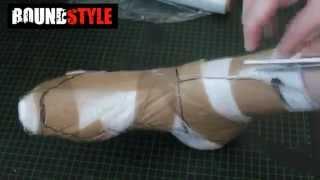 Latex Socken selbst herstellen (geklebt)