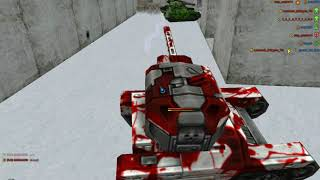 Играем в танки онлайн под музыку.