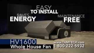 HV1600 Whole House Fan
