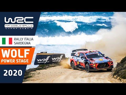WRC ラリー・イタリア・サルディニア パワーステージのハイライト動画