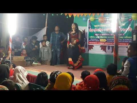 Open dance performance Bogra Dohopara // collage girl dance Sujabad