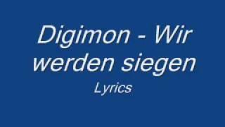 Digimon   Wir Werden Siegen   Lyrics