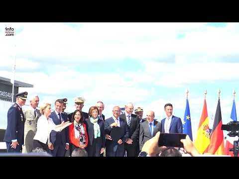 Firma del acuerdo para el caza de combate europeo entre España, Francia y Alemania
