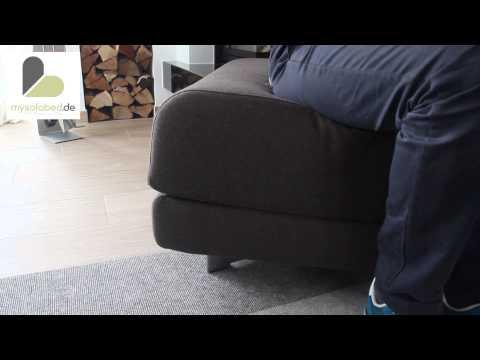 Schlafhocker / Gästebett MAX von Softline - mysofabed.de