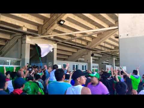 """""""TEMUCO vs La Serena / Hinchada Albiverde"""" Barra: Los Devotos • Club: Deportes Temuco"""