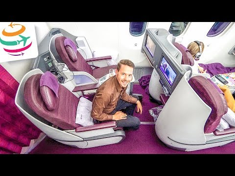Thai Airways Royal Silk (Business Class) 787-8 | GlobalTraveler.TV