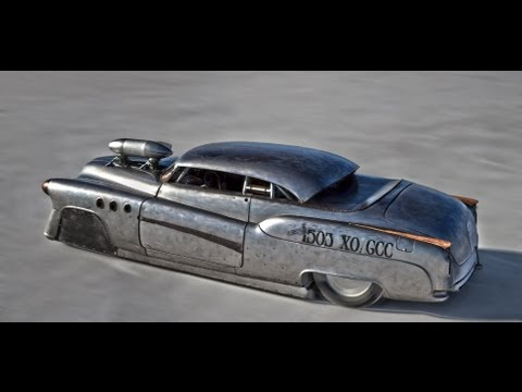 Jeff Brock Bonneville Buick on Salt Flats