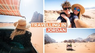 Travelling in Jordan | Jerash, Amman, Wadi Rum