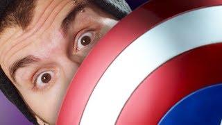 Что, если бы Капитан Америка ударил вас своим щитом? (Vsauce на русском)