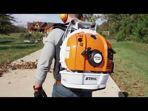 Stihl BR 600 in Kerrville, Texas - Video 1