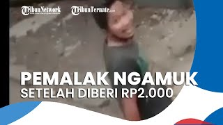 Pemalak Mengamuk setelah Diberi Rp2.000, Pelaku Pecahkan Kaca Spion Korban
