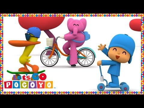 Let's Go Pocoyo! - Sobre ruedas [Episodio 15] en HD
