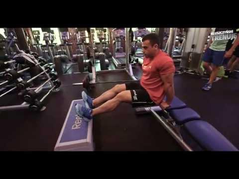 Niezabudowana mięśnie pleców