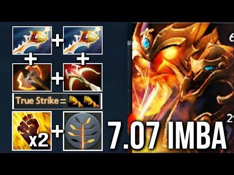 DIVINE RAPIER EMBER IS BACK! New Cancer Talent True Strike + 2x Fist Crazy Gameplay 7.07 Dota 2