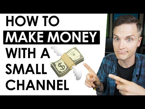 , title : '5 Ways to Make Money on YouTube with a Small Channel