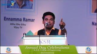 Nanjilvijayan Comedy Motivation Speech KSR College