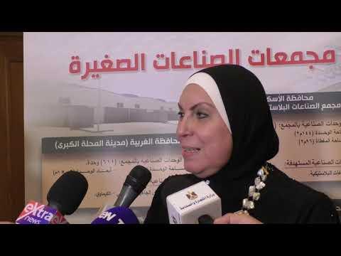 اللقاء الموسع الذي عقدته وزيرة التجارة والصناعة مع ممثلي اتحاد الصناعات المصرية برئاسة السويدى