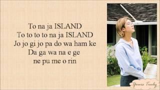 WINNER - ISLAND [EASY LYRICS] - YouTube