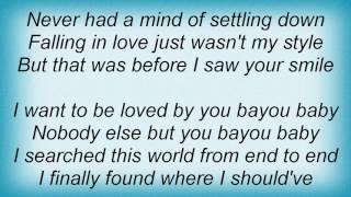 Aaron Tippin - Bayou Baby Lyrics
