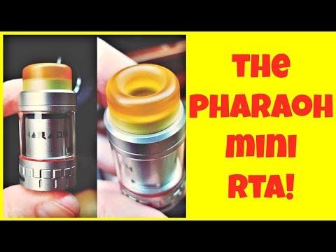 YouTube Video zu Digiflavor Pharaoh Mini RTA Selbstwickelverdampfer 5 ml
