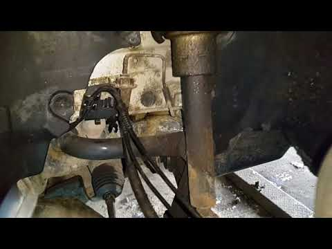 MERCEDES W211 | ЗАМЕНА ПЕРЕДНЕГО АМОРТИЗАТОРА и пальца на Avangard