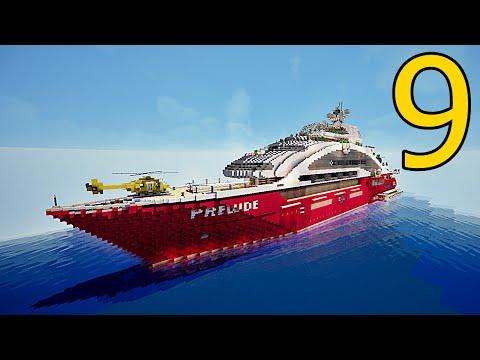Luxury Yacht Minecraft Project Modern Home Revolution