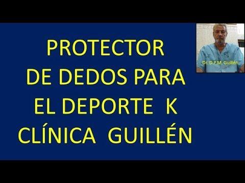 K Podología Protector dedos pie para el deporte  Clínica Guillén