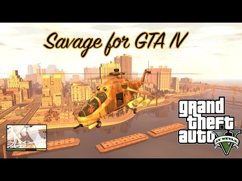 Savage From GTA V For GTA IV