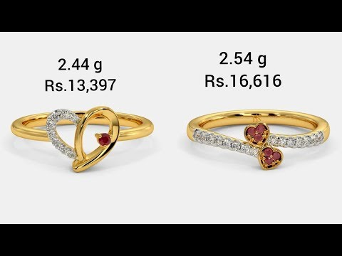 DIAMOND RING DESIGNS WITH WEIGHT & PRICE 5 to 15 % OFF