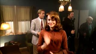 Gangster Squad  Ryan Gosling And Emma Stone Joke On Set