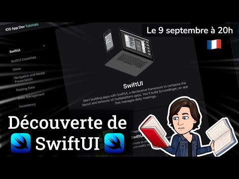 Découverte de SwiftUI ! 👩🏻💻👨🏻💻🧑🏽💻 (French stream 🇫🇷) thumbnail