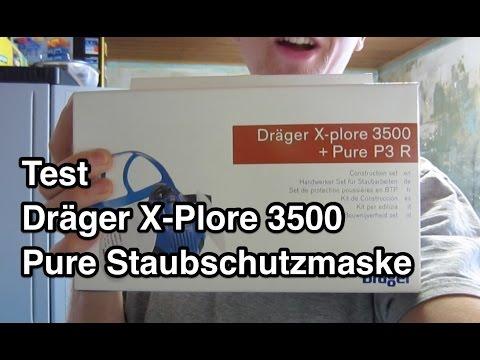 Test Dräger X-Plore 3500 Pure Staubschutzmaske | Atemschutz Halbmaske | Atemschutz Test