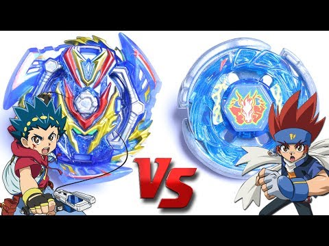 SLASH VALKYRIE vs STORM PEGASUS - VALT vs GINGKA | Beyblade Burst GT ベイブレードバーストガチンコ
