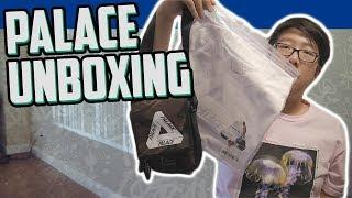 PALACE SHOT BAG AND SANS FERG UNBOXING!!!