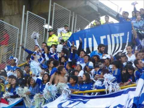 """Comandos azules pasto 2"" Barra: Comandos Azules • Club: Millonarios • País: Colombia"