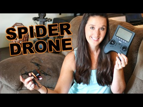 Spider Drone Review – Cheap 5.8GHz FPV – GTeng T901F – TheRcSaylors