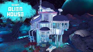 SIXAM ALIEN HOUSE Sims 4 || Speed Build || Simsbiosis