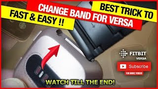 How to Change band on Fitbit Versa 2, Versa Lite Edition