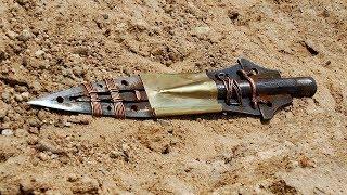 Копьё Судьбы своими руками - оригинальный подарок археологу