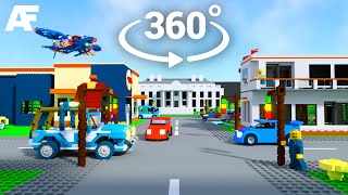 LEGO Virtual Reality World 3D Animated (360° + 3D)