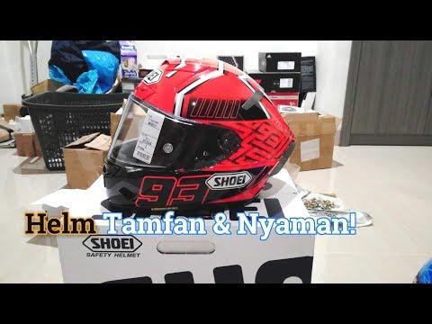 Unboxing Shoei X14 Marquez, Kesan Pertama Helm Premium