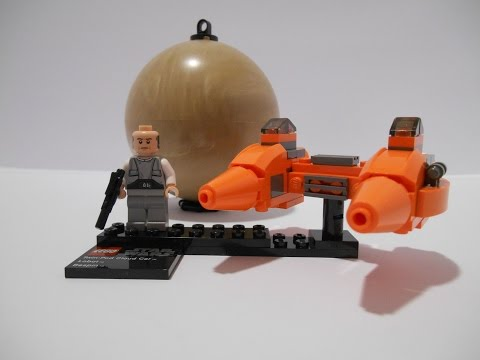 Vidéo LEGO Star Wars 9678 : Twin-Pod Cloud Car & Bespin