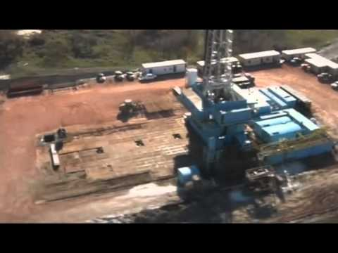 Continental Resources Walking Drilling Rigs