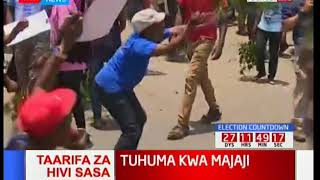 Jubilee supporters hold demonstrations against Supreme Court judges