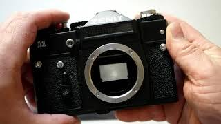Фотоаппарат без объектива Зенит 11. Лот 02160М