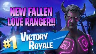 """New """"Fallen Love Ranger"""" Skin!! 10 Elims!!   Fortnite: Battle Royale Gameplay"""